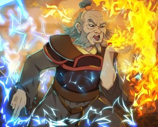 Uncle Iroh -Dragon of the west by anmazol