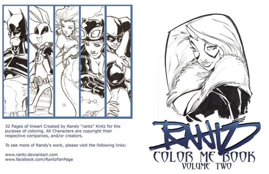 Coloring Book Volume 2 Cover by rantz
