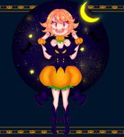Prinny the pumpkin girl by Lalam-art