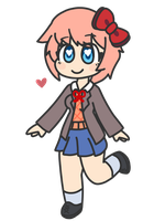 Sayori by Flamez-2
