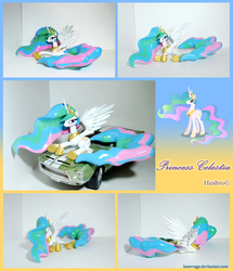 Princess Celestia figure 2.0 lying pose by Laservega