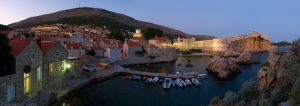 City of Dubrovnik at dusk by ivancoric
