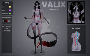 (closed)  Auction Adopt - Valix: Anxiety by CherrysDesigns