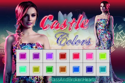 ~'Castle Colors' Styles by GlassAndBrokenHearts