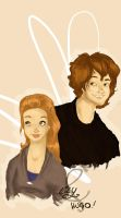 Lily and Hugo by MioneBookworm