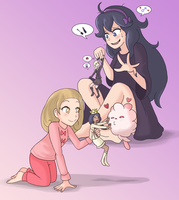 [Pokemon X and Y] Slumber Party by Display-This-Anyway