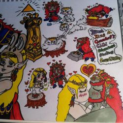 Demon King Ganondorf Chibi Adventure close up by ForestKitty22