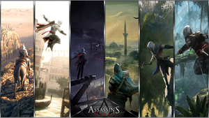 Assassin's Creed Wallpaper by TheEViLN