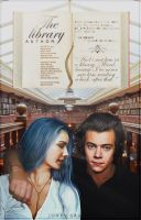 The Library  / wattpad book cover by xjowey02
