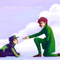 100 JoJo - 55. Waiting by FerioWind