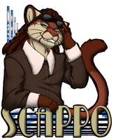 AG: SCAPPO_BADGE by Syrae-Universe