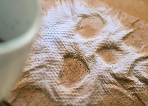 Coffee Skull on Napkin by MillionPM