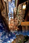 Diagon Alley/Mont St Michel by NelPhotography