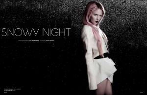 ZINK Holiday Issue 2012 SNOWY NIGHT by LIZZYBPHOTOGRAPHY