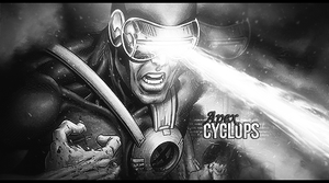 Cyclops Signature Black and White by JROD707