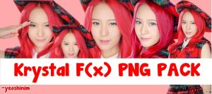 [PNG PACK] F(x) Krystal Rum Pum Pum by yeoshinim