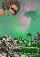 Rome Destroyed by ArianeJurquet