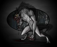 Lycanthrope by AtropaGrimm