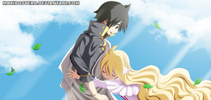 Zeref and Mavis Fairy Tail 449 by Maxibostero