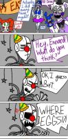 EASTER IS COMING Sister Location Comic by Mrs-Spring45