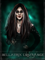 Bellatrix - tarot series by Patilda