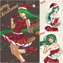 2017 Holiday Redraw by iSnowFairy