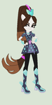 My little Pony Equestria Girls War Kyra Hollyfield by cuteflu