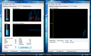 Blue Task Manager For Seven64 by ozzy8031