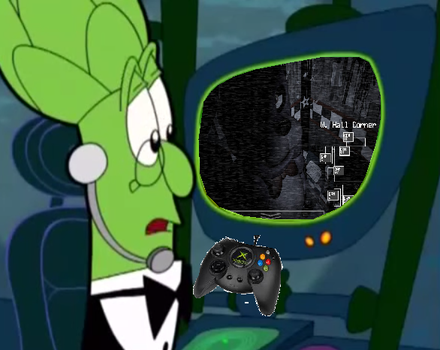 Archie plays Five Nights at Freddy's by OldandNewShowsForevs