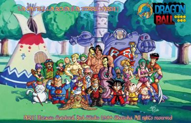 DRAGON BALL The Red Ribbon The Tower Karin by Galtharllin
