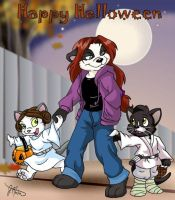 Trick or Treat!/Halloween '05 by Panda-Jenn