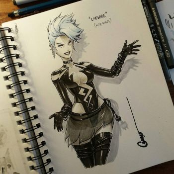 Livewire alt costume by Omar-Dogan