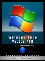 Windows Logo Resource PSD by yethzart