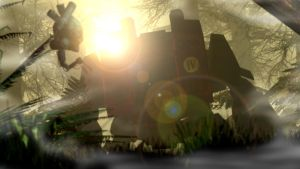 Resting Dreadnought ::Warhammer 40k:: by guywiththesuitcase