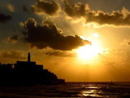 Jaffa Sunset by Pimpernel