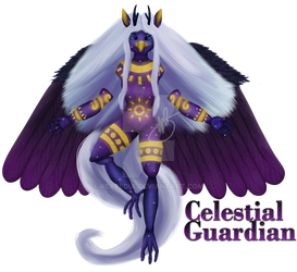 Celestial Guardian by Rexpedia