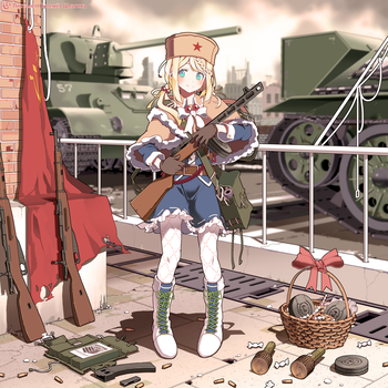 PPSh-41. by Circle-A