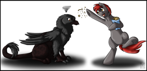 Feed the Birds by StormBlaze-Pegasus