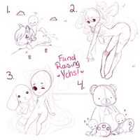 SET PRICE Collab YCHS! FUNDRAISING YCH EVENT !! by CritterPunk