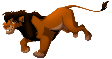 Running Maned-Lioness by albinoraven666fanart