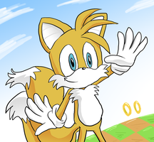 Tails: Endless Sky by BladeXD