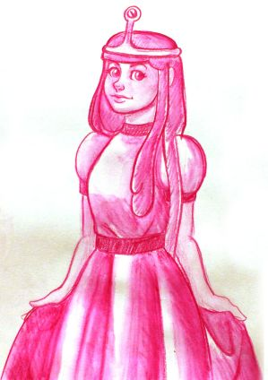 Princess Bubblegum by Blueberry-me