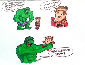 Yes! Protect the Baby Avenger by HTF-ADTI-MLP100606