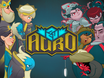 Auro Quest Expansion Kickstarter Banner by PickleStork