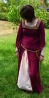 Medieval dress stock 5 by stock4ever23
