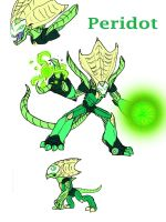 Corrupted Peridot by TheWatcherofWorlds