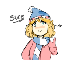 sure! by nyo-tastic