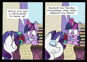 Crazy Curriculum by bobthedalek