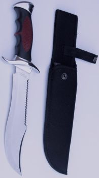 Conjal's Hunting Knife+Sheath by FantasyStock