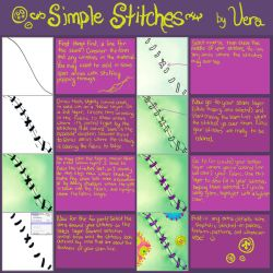Simple Stitches Tutorial by v-e-r-a